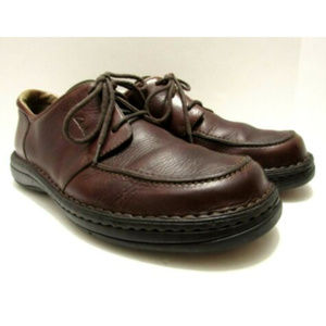 Clarks Chestnut Leather Casual Dress Oxfords 30126